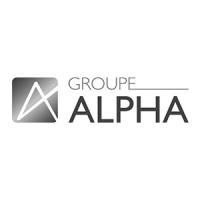 logo client Groupe Alpha